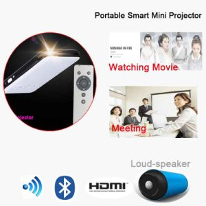 Mini Projector HD Projector WiFi HD DLP LED Black 1080P pictures & photos