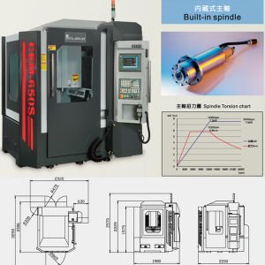 Creator 24000rpm Economic Precision Milling Machine pictures & photos