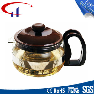 Handmade High-Quanlity Best-Sell Borosilicate Glass Teapot (CHT8077) pictures & photos