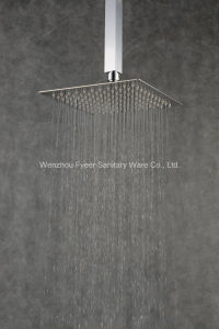 Ultra Thin Square 304 Stainless Steel Shower Head (QH325AS) pictures & photos