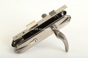 Aluminum Hot Selling Door Handle Lock (DL-012) pictures & photos