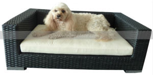 Outdoor Garden Rattan Pet Furniture Bed (MTC-096) pictures & photos