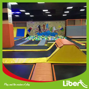 Indoor Trampoline with Jumping Box and Foampit pictures & photos