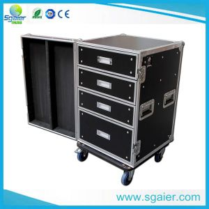 Heavy Duty & Low Price Customized Outdoor Show Flight Case with Drawer pictures & photos