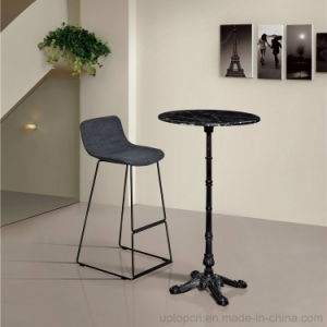 High Marble Bar Table with Iron Four Prongs Leg (sp-bt679) pictures & photos