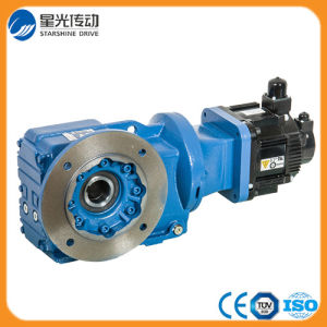 K Series Speed Reductor Helical Geared Motor for Agitator pictures & photos