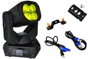 4X25W DMX512 Super LED Beam Moving Head Light pictures & photos