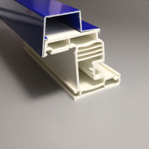 China Factory of UPVC Profile Profiles for Plastic Window Frame pictures & photos