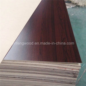 ISO9001: 2008 1220*2440mm Wood Grain Color Single Face/Double Face Melamine HDF pictures & photos