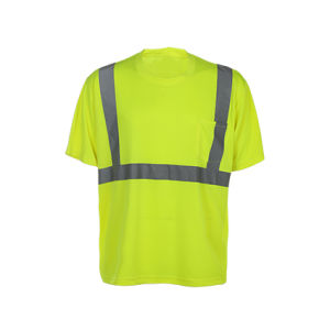 Short Sleeve Work Reflective Safety T-Shirts