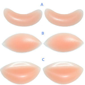 Sexy Three Types Silicone Breast Inserts pictures & photos