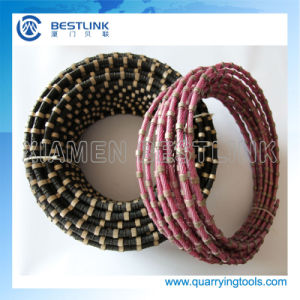 China Manufacture Diamond Wire Rope for Quarrying Granite pictures & photos