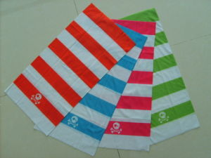 100% Cotton Square Seamless Multi Neck Tube Bandana pictures & photos