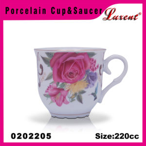 Ceramic Vanity Restaurant Promotional European Cups and Saucers pictures & photos