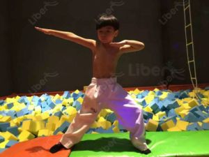 Good Quality Amazing Cheap Custom Made Indoor Trampoline pictures & photos