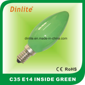 C35-Colorful Inside Candle Incandescent Bulb pictures & photos