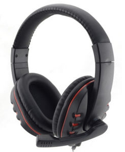 Factory Price Hot Selling Black PC Gaming Headset pictures & photos