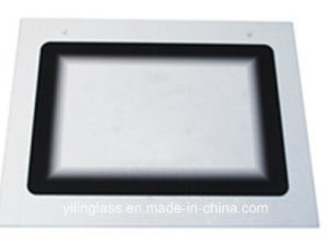 Hina High Quality Hot Sale Tempered Printing Glass for Roaster Door pictures & photos
