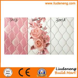 25X40cm Pink Color Digital Print Ceramic Wall Tiles