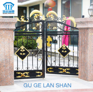 High Quality Crafted Wrought Iron Gate 017 pictures & photos
