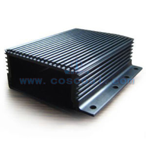 Aluminum/Aluminium Skived Heat Sink with CNC Machined pictures & photos