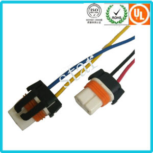 Replacement for Automotive Light Connector Blue/Black Wire Harness Connector pictures & photos