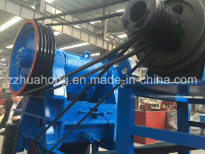 Portable Stone Crushing Plant, Simple Structure Jaw Crusher Machine for Rock Stone pictures & photos