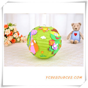 2015 Promotional Gift Children DIY Animal Paper Lantern Party Favor Hall Decoration Hanging Cartoon DIY Paper Lantern Best Sell (TY11003) pictures & photos