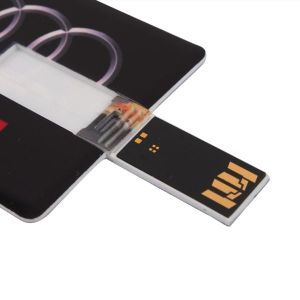 Custom Logo Card USB Flash Drive Credit Card USB Stick pictures & photos