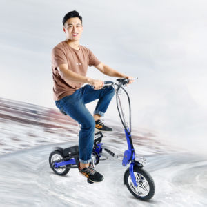 Hot Selling 12inch Portable Electric Folding Bike with LED Light pictures & photos