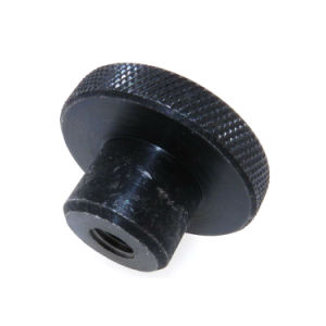 Black Anodized Aluminum Straight Knurled Thumb Screw Nuts pictures & photos