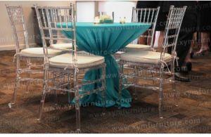 Luxury Wedding Clear Crystal Resin Chiavari Chair Acrylic Clear Resin Chiavari Chair pictures & photos