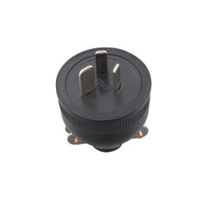 (100501) IP54 Waterproof VDE 15A 3pin Australian Plug Electrical Plug Top pictures & photos