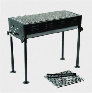 New Design Height Adjustable Portable Charcoal Barbecue Grill pictures & photos