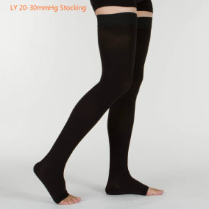 Ly Thigh High 20-30mmhg Compression Stocking pictures & photos