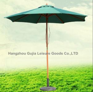 Outdoor Large Garden Wooden Beach Patio Umbrella on Sale pictures & photos