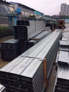 Cheap Price Galvanised Steel C Z Purlin for Wall Support pictures & photos