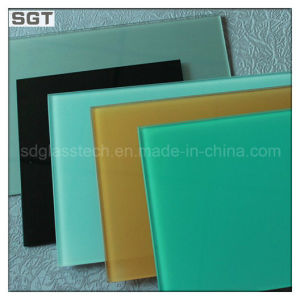 4mm 5mm 6mm Ultra Clear Lacquered Glass with Double Paint Coated pictures & photos