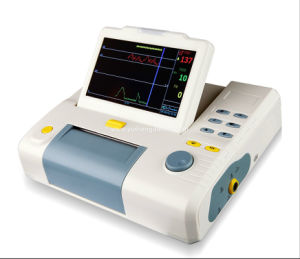 Digital Portable 8.4 Inch Fetal Ultrasonic Transducer Pregnacy Patient Monitor pictures & photos
