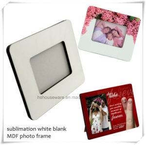 "China Manufacturer 6mm 7X8.5"" Sublimation MDF Photo Frame pictures & photos"