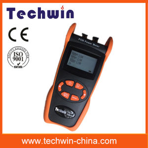 Techwin Tw3212e Fiber Power Meter Used in Burst Mode Measurement of 1310 Upstream pictures & photos