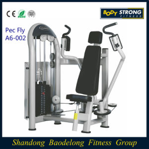 2016 Popular Pec Fly Gym Equipment Chest Training Pectoral Machine A6-002 pictures & photos
