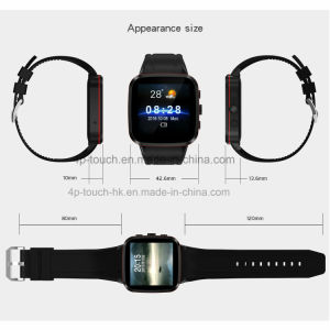 2017 3G Smart Watch Phone with Magnet Charging (N8) pictures & photos