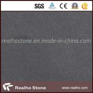 Plain Grey Quartz/Artificial Stone with Slab/Tile/Countertop pictures & photos