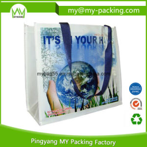 Giveaway Shopping PP Woven Glossy Promotion Bag pictures & photos
