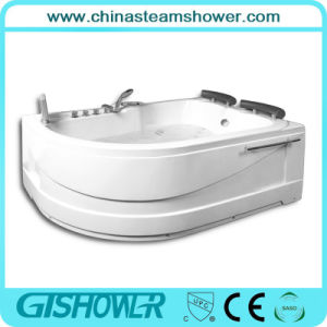 1800X1200mm 2 Person Massage Bathtub (KF-605R) pictures & photos