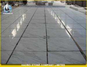 Volakas White Marble Flooring Tiles pictures & photos