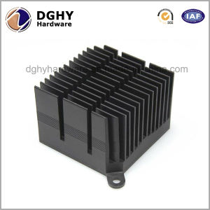 China Manufacture Aluminum Folded Fin Heat Sink with Special Design pictures & photos