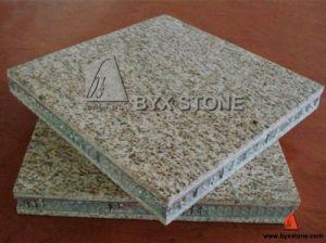 Yellow Granite Aluminum Honeycomb Composite Laminate Floor Tile pictures & photos