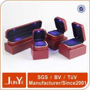 Custom Plastic Core Ring Box LED Light Jewelry Box Combination Lights Box
